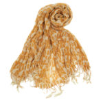 luxury-scarf-pumpkin-orange-ivory-jewel-ikat-microfiber-wool-blend-26-6306C.600w